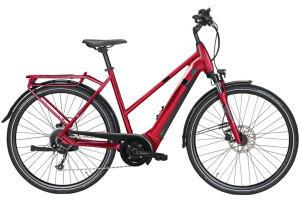 Pegasus Bikes Pegasus Solero EVO 9 (500 Wh) Women (2021) blackberry red
