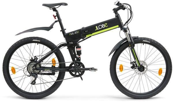 LLobe E-Mountain-Bike FML-830 27,5 black