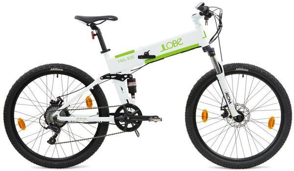 LLobe E-Mountain-Bike FML-830 27,5 white