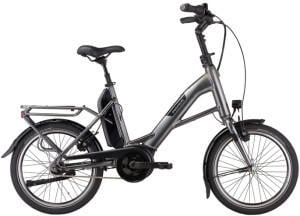 Pegasus Bikes Pegasus Swing E7R (500 Wh) Compact (2021) black chrome matt