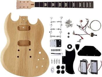 Harley Benton E-Gitarren Bausatz DC-Style