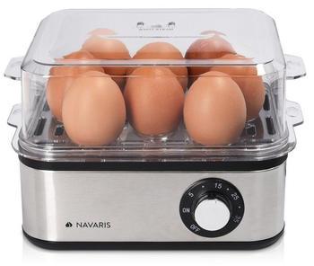 Navaris Eierkocher mit Timer für 1-8 Eier