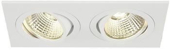 slv-new-tria-ii-led-dl-square-set-mattweiss-2x6w-38-3000k-inkl-treiber-clipfed