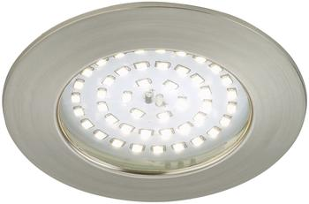 Briloner LED 10,5W rund (7206-012) matt nickel
