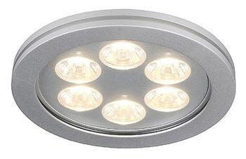 SLV Eyedown LED 6X1W Warmweiß (111992)