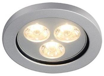 SLV Eyedown LED 3x1W Warmweiß (111982)