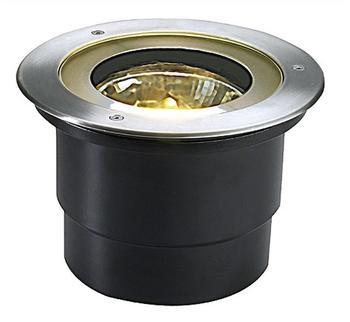 SLV Adjust Round QRB111 Edelstahlblende (227090)