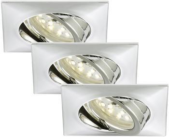 Briloner LED-Einbauleuchte 3er Set (7210-038)