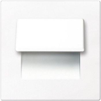 Spot-Light LED Stufenleuchte FORTUNE SQUARE Glas 1,2W 20lm 12V Schalterdose EEK: A