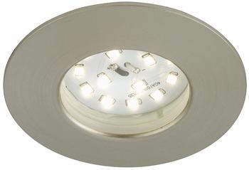 Briloner LED Ø 7,5 cm (7204-012) nickel matt