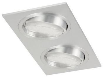 RANEX ESL-Einbauspots aus Aluminium/Glas, 2x9W inkl. richtbar im Doppelpack