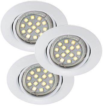 Nordlux Triton LED SMD Einbauleuchte weiss