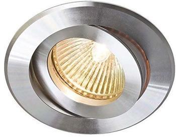 EVN Elektro Einbaustrahler aluminium/poliert 608 014