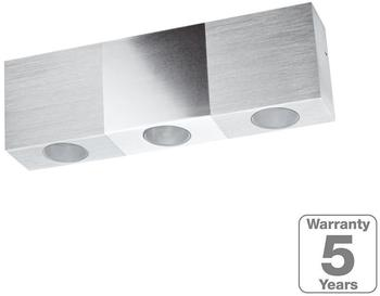 Paulmann Wandaufbauleuchten-Set Special Line Trendy LED LED, Alu geb./Chrom, 1er Set