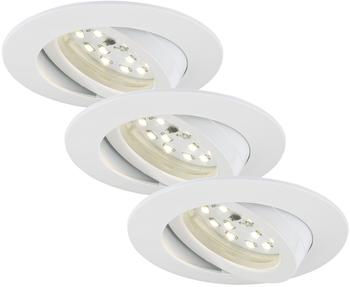 Briloner LED 16.5W 3er-Set weiß (7232-036)