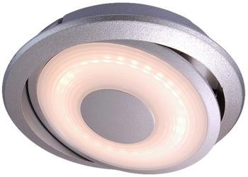 Deko-Light Möbeleinbauleuchte Swing Silber-matt 2,5W 146lm EEK A+ [Spektrum A++ bis E]