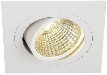 SLV NEW TRIA LED DL SQUARE Set, mattweiss, 25W, 30, 3000K, eckig, weiß 114291