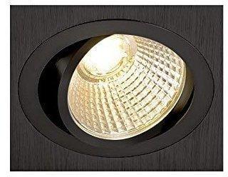 SLV New Tria 113910 LED-Einbauleuchte 6W Warm-Weiß Schwarz (matt)