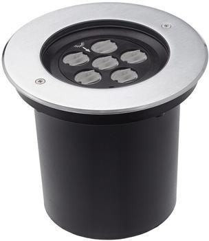 Deko-Light KapegoLED Bodeneinbauleuchte HP IV WW, silber, warmweiß EEK: A