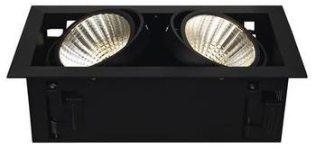 SLV KADUX LED DL Set, mattschwarz, 30, 3000K, inkl. Treiber
