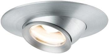 Paulmann 935.79 Lichtspot Einbaustrahler Aluminium LED Focus Alu schwenkbar 3er-Set inkl. LED-Modul 3x3,8W