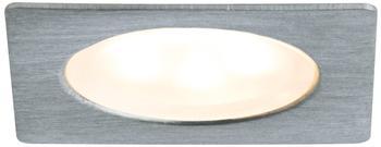Paulmann 93587 Möbeleinbauleuchten-Set Micro Line Mini LED eckig, Eisen gebürstet,