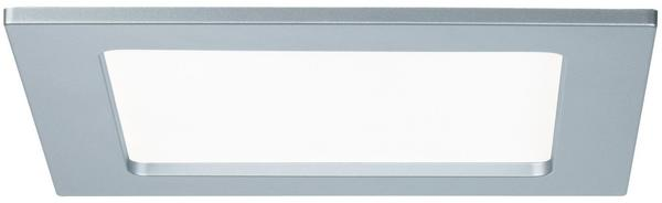Paulmann LED Einbaupanel eckig 12W 4000K Chrom matt IP44 (920.77)
