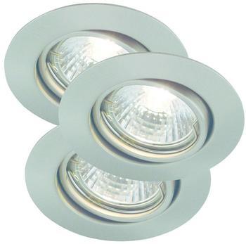 NORDLUX Triton excl. Leuchtmittel Einbauleuchte Geb. Stahl