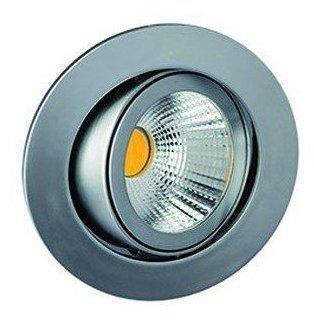 Rutec LED-Einbaustrahler 8W 2700K 800lm chr mt 1LED Kst-tr IP20