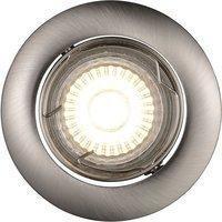 Nordlux Recess Einbauleuchten - LED 3x3 Watt, Stahl gebürstet
