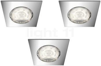 Philips myBathroom LED Dreaminess 3x4.5W eckig (59007/11/P0)