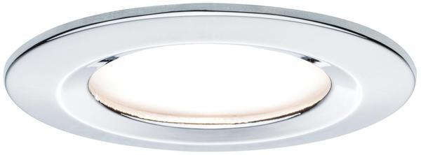 Paulmann LED Coin Slim IP44 rund 6,8W Chrom 1er-Set dimmbar (938.72)