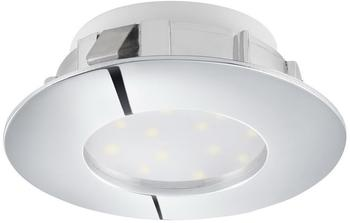Eglo PINEDA LED Einbauspot Ø78, 1-flg., chrom