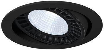 SLV SUPROS DL Deckeneinbauleuchte, rund, schwarz, 4000lm, 4000K SLM LED, 60 Reflektor