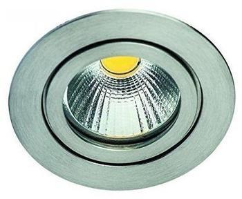 RUTEC LED-Downlight 8W 660lm Konv A+ edst mt 2700K 1LED EEK:A+ Einb IP55 hglz Gl-klar