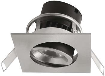 Megatron LED-Einbauleuchte 8 W Warm-Weiß Siena MT76728 Nickel (gebürstet)