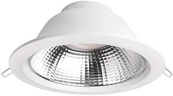 Megaman LED-Einbauleuchte 19 W Neutral-Weiß Siena MM76740 Weiß