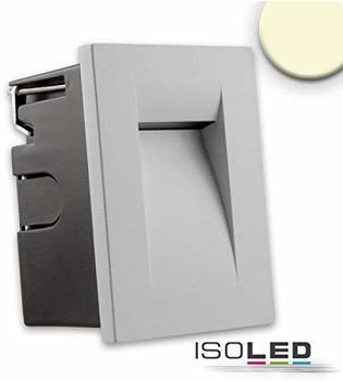 ISOLED Einbauleuchte IP65 3W 100lm warmweiss silber 112638
