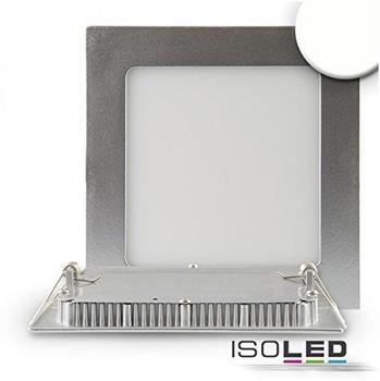 ISOLED-N Downlight Ultra flach, silber, dimmbar, 15W, neutralweiß
