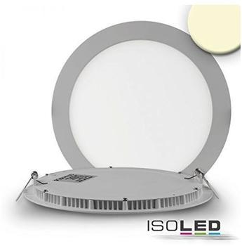ISOLED LED Downlight ultra flach silber dimmbar