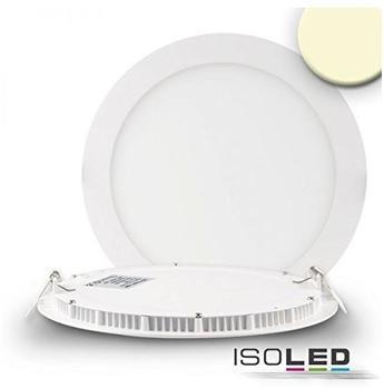 Isoled LED Downlight ultra flach weiß, dimmbar, 18W warmweiß