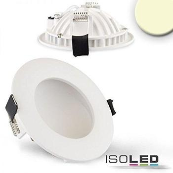 ISOLED LED Downlight LUNA 6W weiss 300lm warmweiss dimmbar