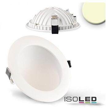 Isoled LED Downlight LUNA 12W weiss 662lm warmweiss dimmbar