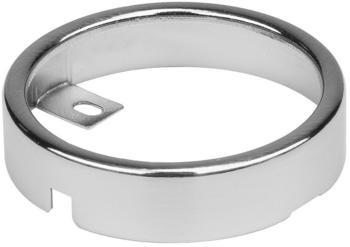 SLV 112185 Rundes Einbaugehäuse für DL 126 Einbauleuchte, rund, metall gebürstet
