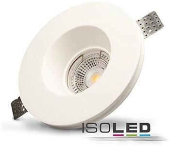ISOLED-N Gips-Einbaustrahler GX5.3, rund, rückversetzt, weiß