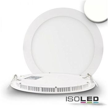 ISOLED-N LED Downlight ultra flach, rund, weiß, 18W, neutralweiß