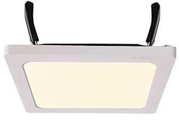 Kapego Deckeneinbauleuchte LED Panel Square II 8, stromkonstant 215V DC 350 mA 800 W