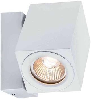 Paulmann Wandaufbauleuchte Special Line 360° Cube Flame LED, Weiß matt, 1er Set, 1x7W