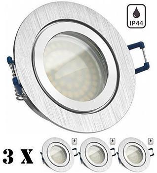 LEDANDO Einbaustrahler 3er Pack (GU10KF35-EBSTIP5290R-x3)