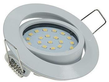 ChiliTec 5W LED Downlight Flat-32 warmweiß 470lm weiß